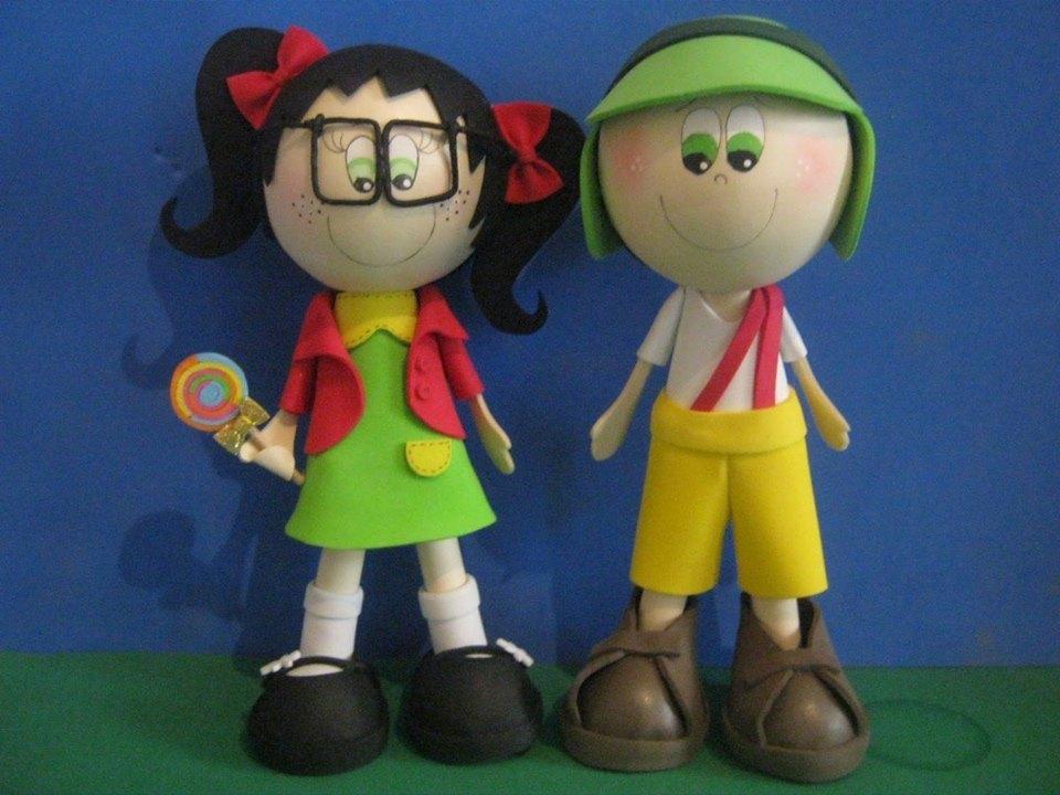 Autodidatas, os piauienses José Soares e Raquel produzem os bonecos no tempo livre e mostram como um hobby pode ajudar nas contas do fim do mês (FOTO: Reprodução/Facebook)
