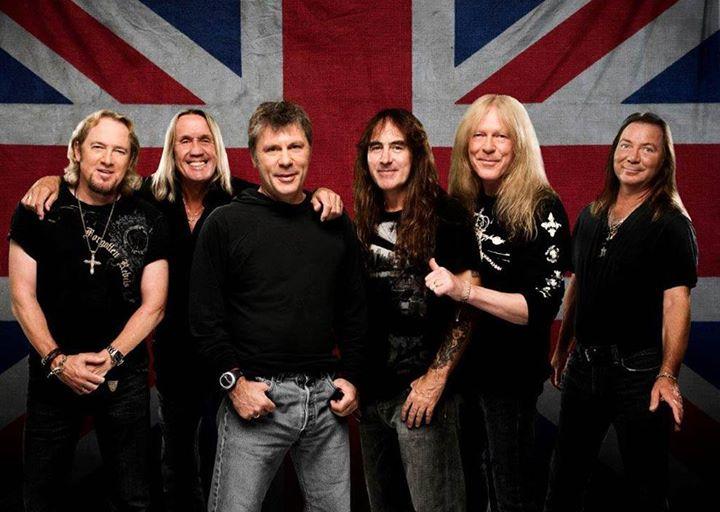 Iron Maiden fará apresentação no dia 26 de março (FOTO: Reprodução/Facebook)