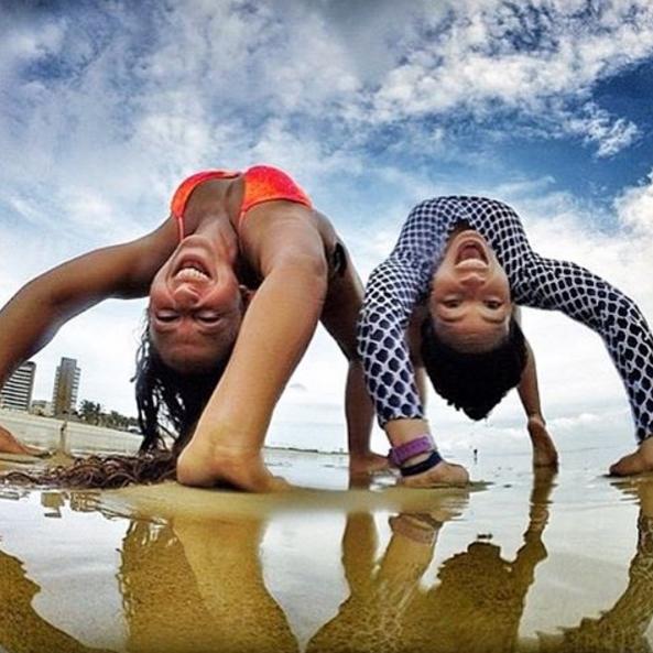 Casal cria perfil no Instagram para estimular o turismo na Praia do Futuro