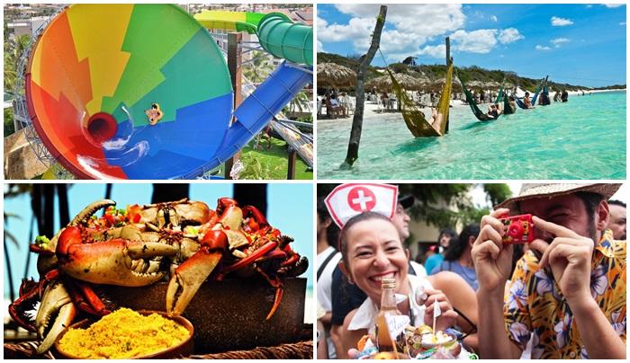 671ed8900972d Chuvas de óculos e de calcinhas agitam o domingo de carnaval em ...