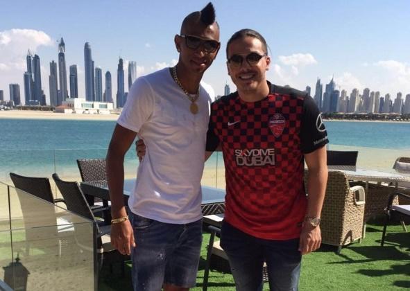 Wesley Safadão e boleiro trocam mensagens de amizade após temporada de férias em Dubai