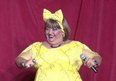 Rossicléa fala sobre o humor cearense (FOTO: Reprodução TV Jangadeiro)