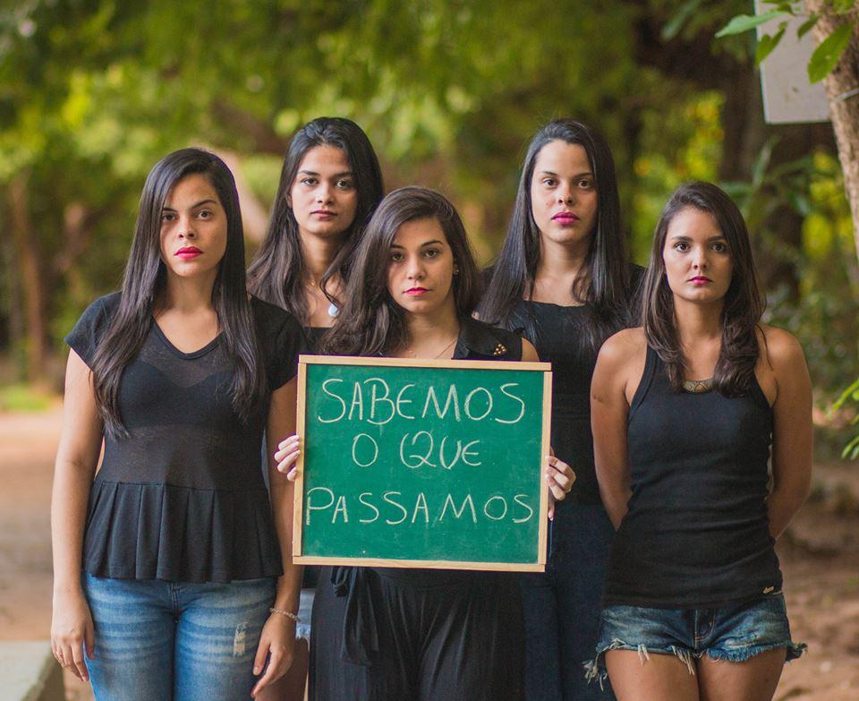 Ensaio fotográfico dá voz a jovens que sofrem assédio em Fortaleza