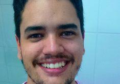 Autor do livro, Filipe Sant'Ana, mora há 13 anos em Fortaleza. (FOTO: arquivo pessoal)