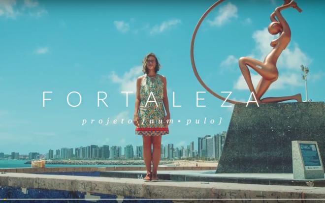 Casal mineiro faz vídeo inusitado mostrando as belezas do Ceará