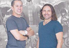 Halder Gomes foi professor de taekwondo de Edmilson Filho (FOTO: Gshow/Divulgação)