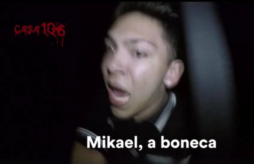 Vídeo em casa mal-assombrada de shopping mostra reações de medo de jovens