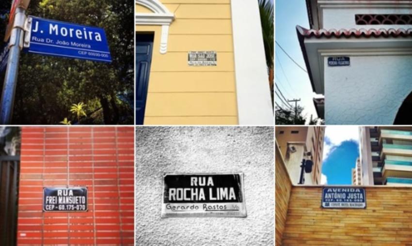 Perfil no Instagram resgata quem foram as pessoas que dão nomes às ruas de Fortaleza