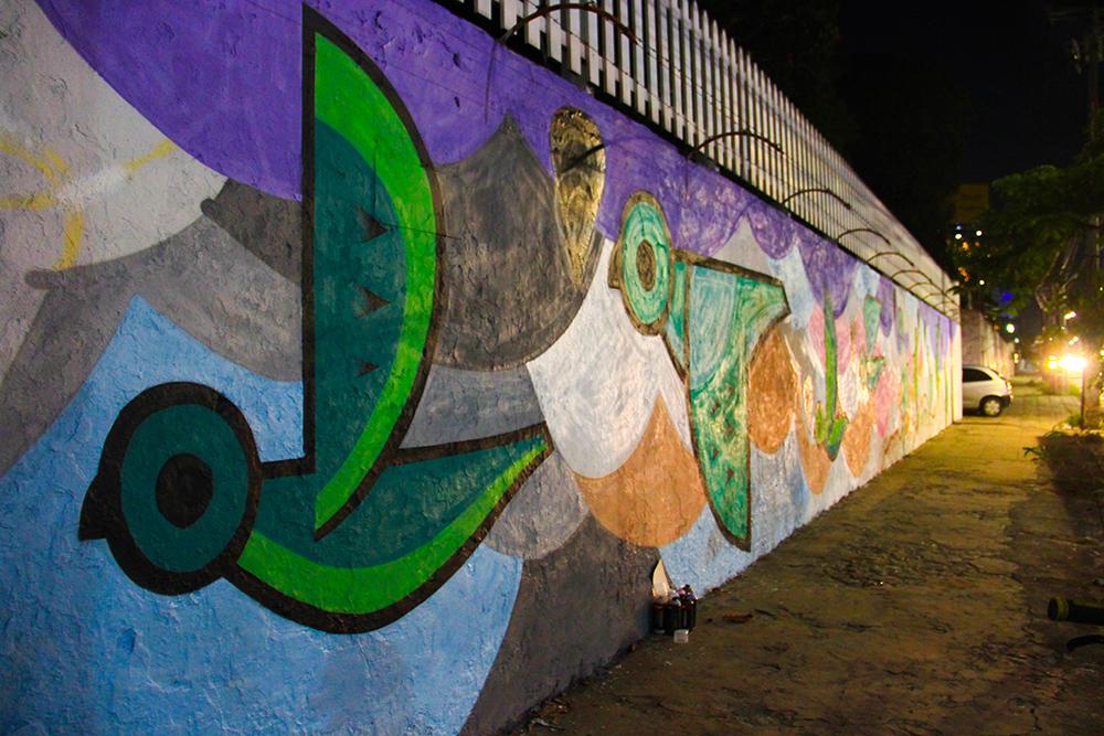 Arte urbana tem o objetivo de dar cor e voz à população