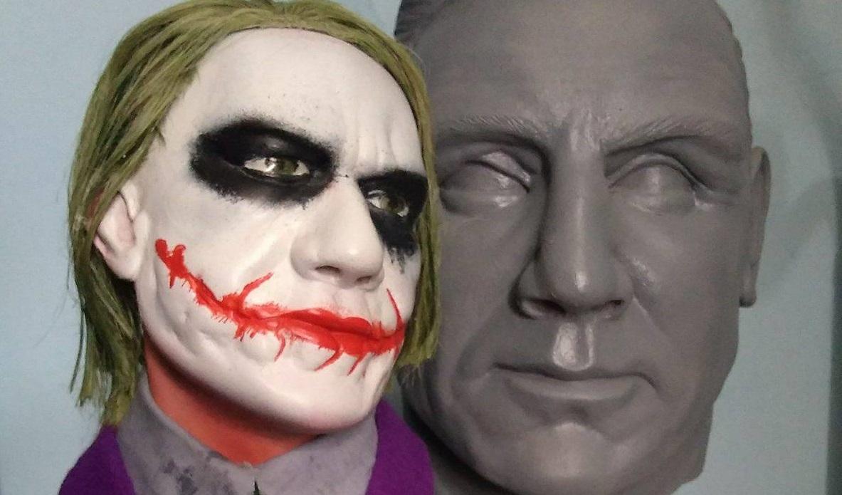 Cearense maqueiro de hospital faz esculturas ultra-realistas de personagens em quadrinhos