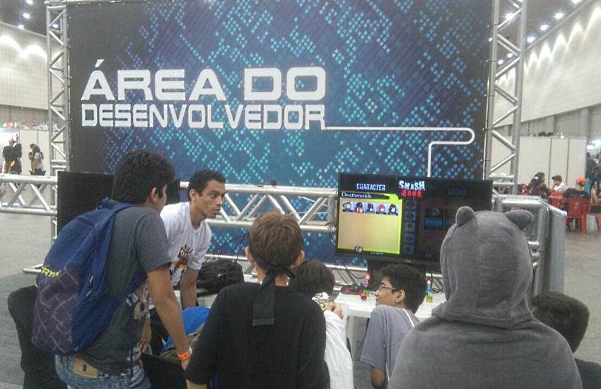 Sana Fest abre espaço para games cearenses serem testados por jogadores