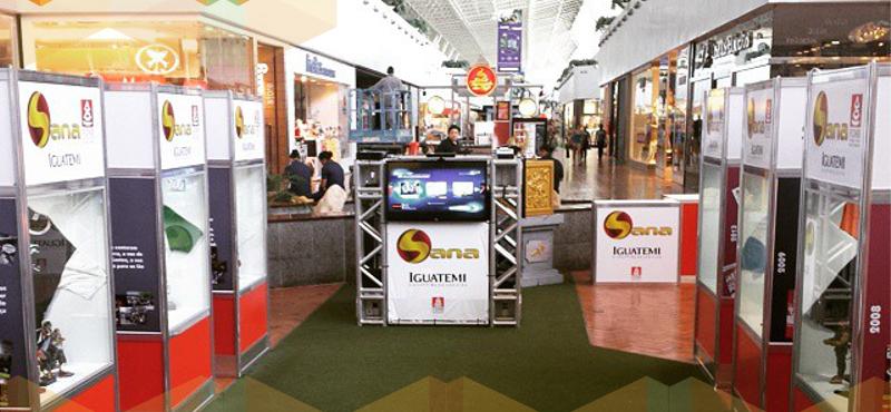 Espaço com prévia das atrações do Sana Fest é inaugurado no Shopping Iguatemi