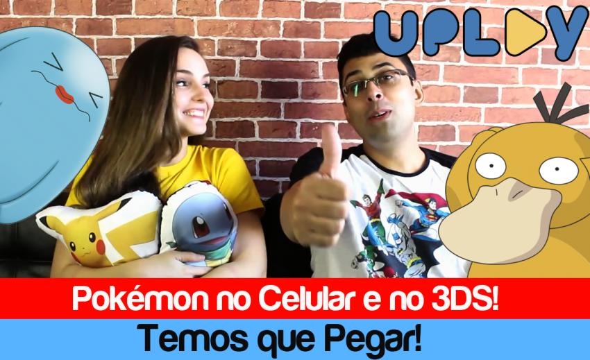 """Uplay #08: Febre da franquia Pokémon já rendeu """"treta"""""""