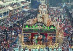 Theatro José de Alencar homenageado no Carnaval do Rio de Janeiro. (Foto: Reprodução)