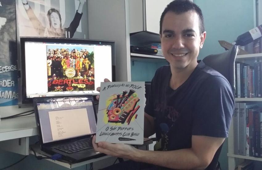 Cearense lança livro em homenagemaos 50 anos de álbum dos Beatles