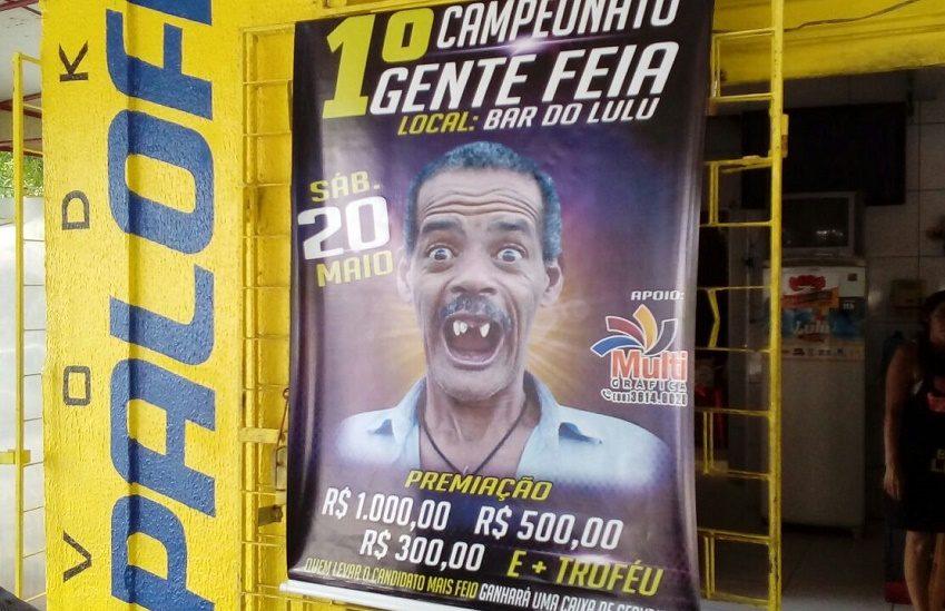 Bar cearense promove o 1º Campeonato de Gente Feia, com prêmio em dinheiro e cerveja