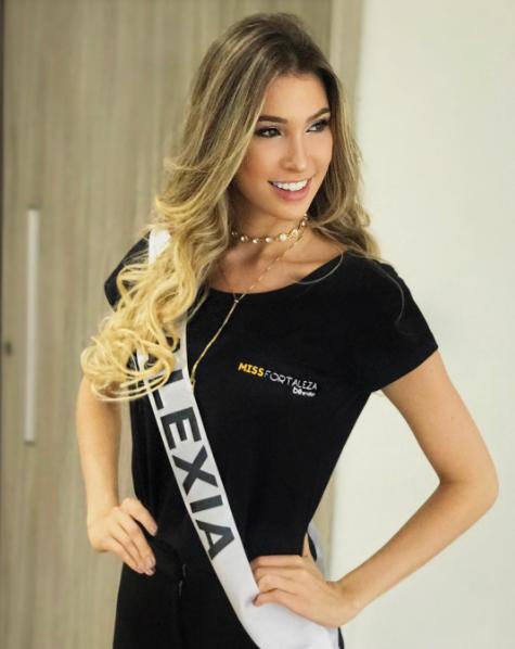 Filha de Miss Ceará é eleita mulher mais bela de Fortaleza e fala sobre a influência dentro de casa