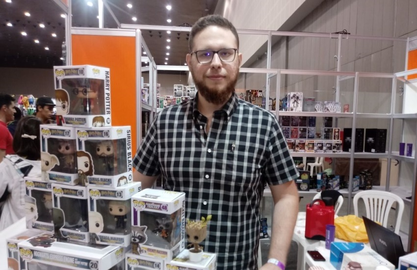 De R$ 5 a R$ 500: Sana 2017 movimenta mercado da cultura geek e pop