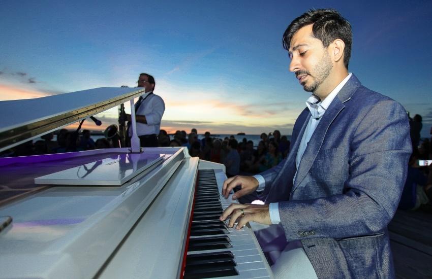 Apresentação musical no pôr do sol volta à Ponte Metálica neste domingo