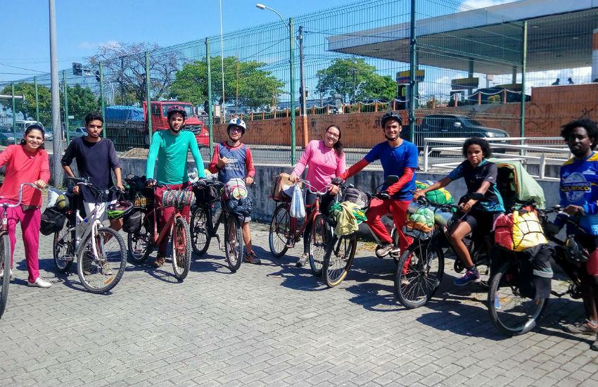 Grupo percorrerá mais de 20 mil km de bicicleta do Brasil até o Alasca