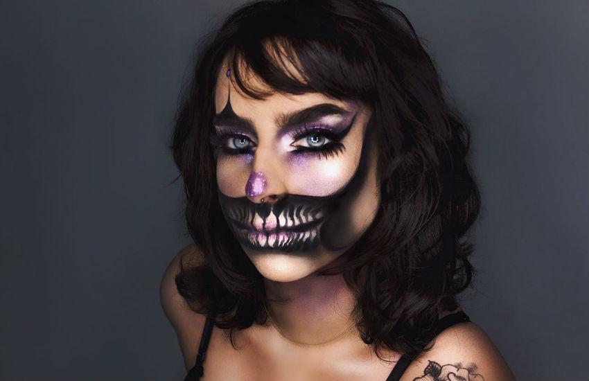 Maquiadoras cearenses especialistas em Halloween impressionam com makes de terror realistas