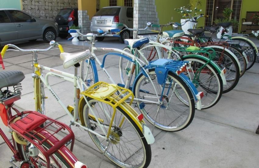 Colecionadores cearenses guardam bicicletas que são verdadeiras relíquias