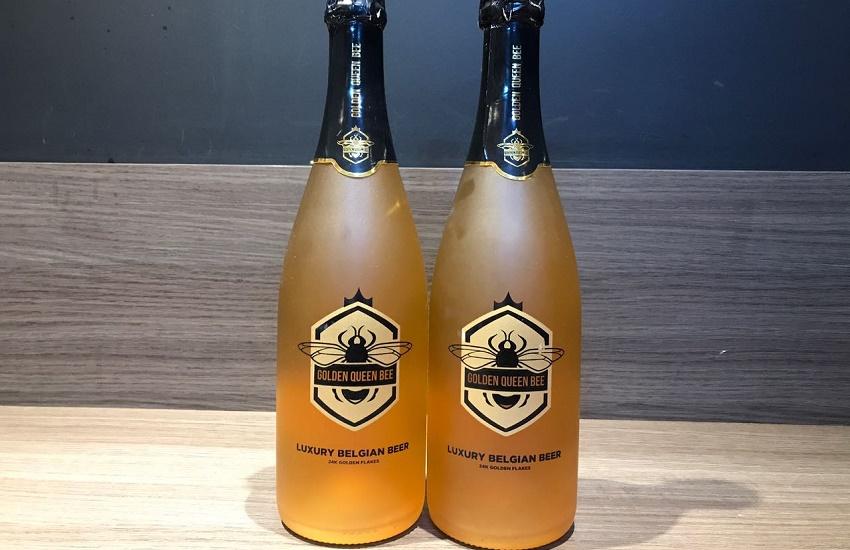 Cervejaria em Fortaleza oferece cerveja que contém ouro como ingrediente
