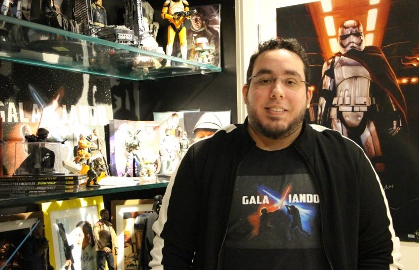Cearense desembolsa R$ 90 mil ao longo de 20 anos com coleção gigante de Star Wars