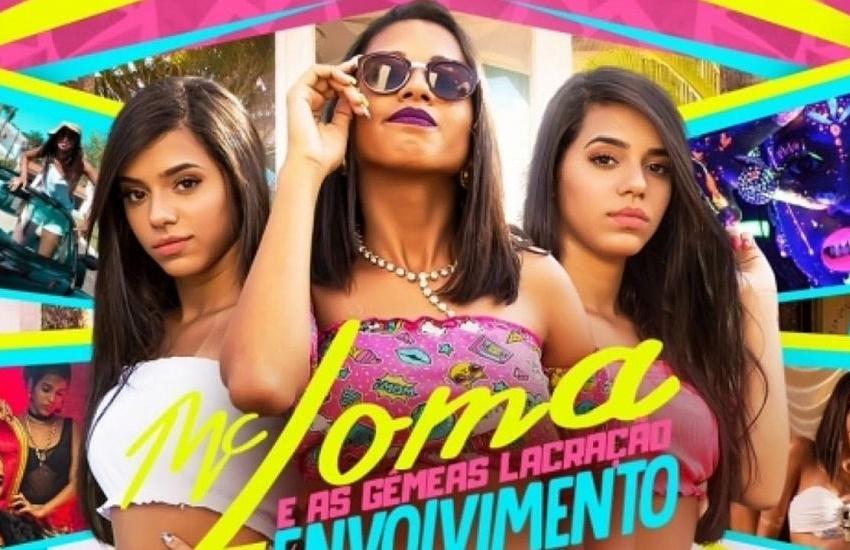 MC Loma e as Gêmeas Lacração farão show em Fortaleza