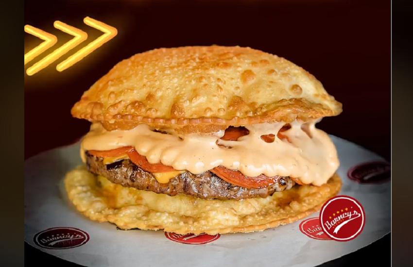 Hambúrguer de pastel é a novidade gastronômica da vez em Fortaleza