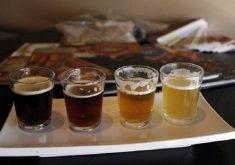 copos de cerveja em referência ao congresso