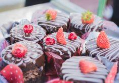 Chocolate e doces em referência ao festival de doces
