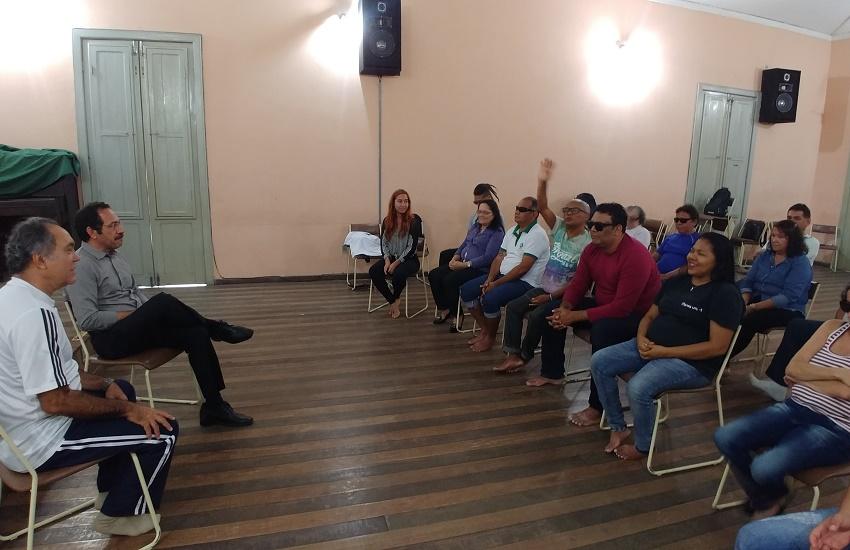 Primeiro grupo de teatro do Ceará formado por cegos será lançado nesta quarta