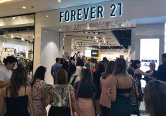 Fachada da loja Forever 21