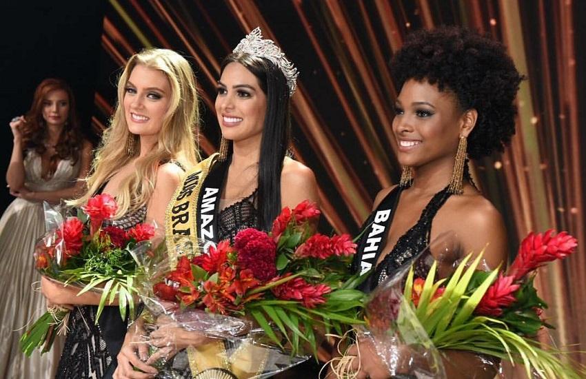 Cearense Teresa Santos fica com a 3ª colocação no Miss Brasil 2018
