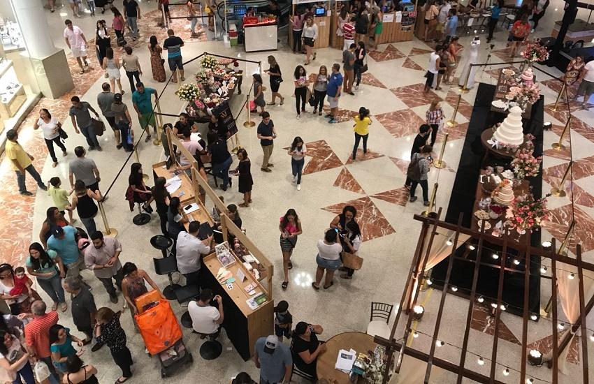 Shopping recebe feira de noivas com descontos de até 50% em serviços e produtos