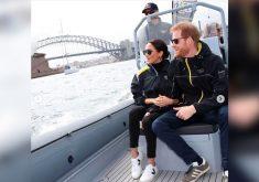 Esposa do príncipe Harry usa tênis com parte do material feito no Ceará