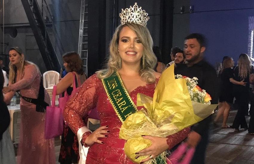 Jornalista representante de Icapuí é eleita a Miss Plus Size Ceará 2018