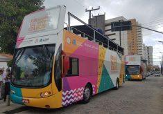 Fortaleza Bus passará por pontos turístico da Capital. (Foto: Jéssica Welma / Tribuna do Ceará)