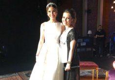 A noiva cantou com Sandy no palco (FOTO: Arquivo pessoal)
