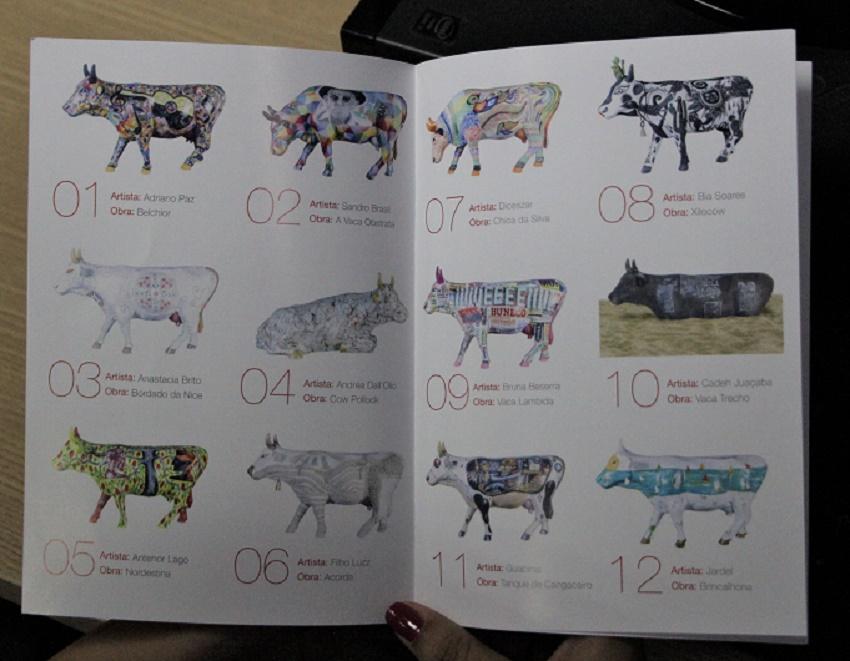 Catálogo das vaquinhas