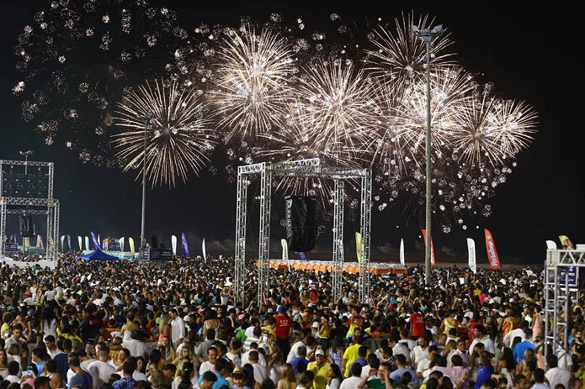 Réveillon de Fortaleza terá um dos maiores shows pirotécnicos do país, com 17 minutos