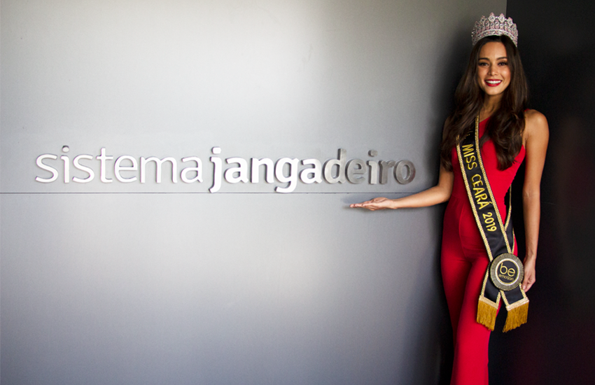 Nova Miss Ceará, Luana Lobo já trabalhou como modelo em 18 países e fala 4 idiomas
