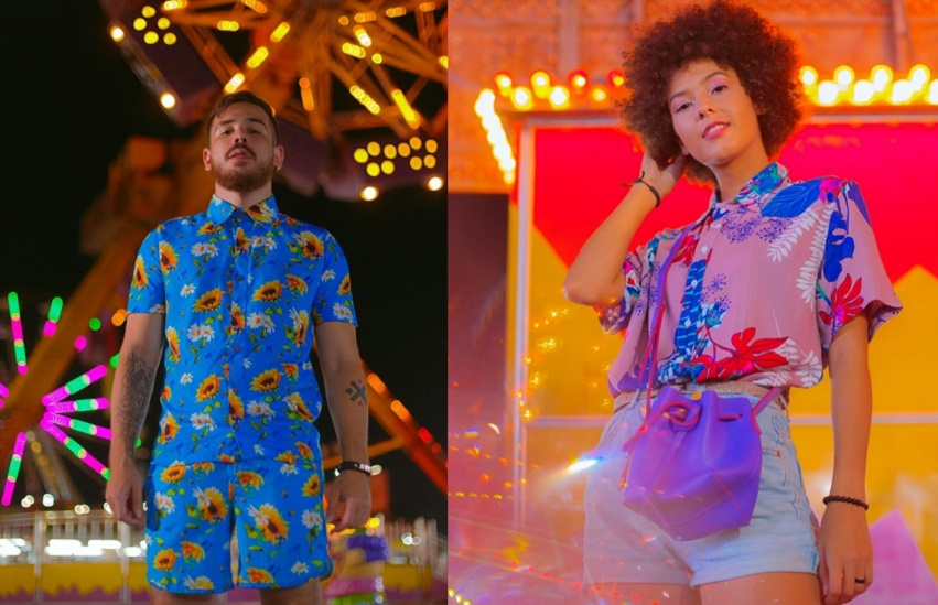 Quem vende as camisas estampadas que fazem sucesso no Pré-Carnaval de Fortaleza