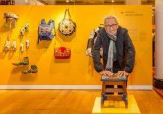 Espedito Seleiro acompanha exposição de seu trabalho em Londres. (Foto: Reprodução/Instagram)