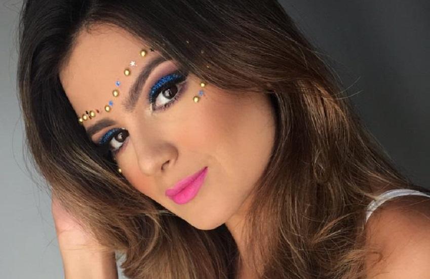 Veja como preparar uma maquiagem com glitter para o Carnaval