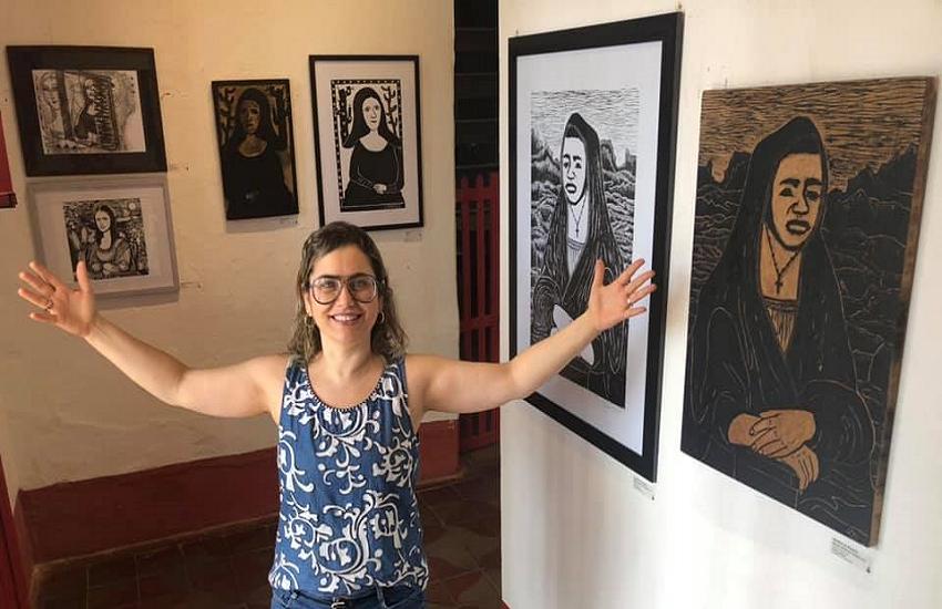 Cearense coleciona mais de 300 releituras do desenho de Monalisa