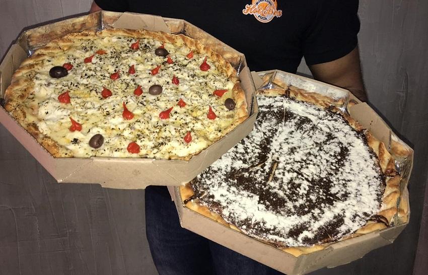 Pizza de bacalhau e de brigadeiro de café? Restaurante de Fortaleza inova nos sabores