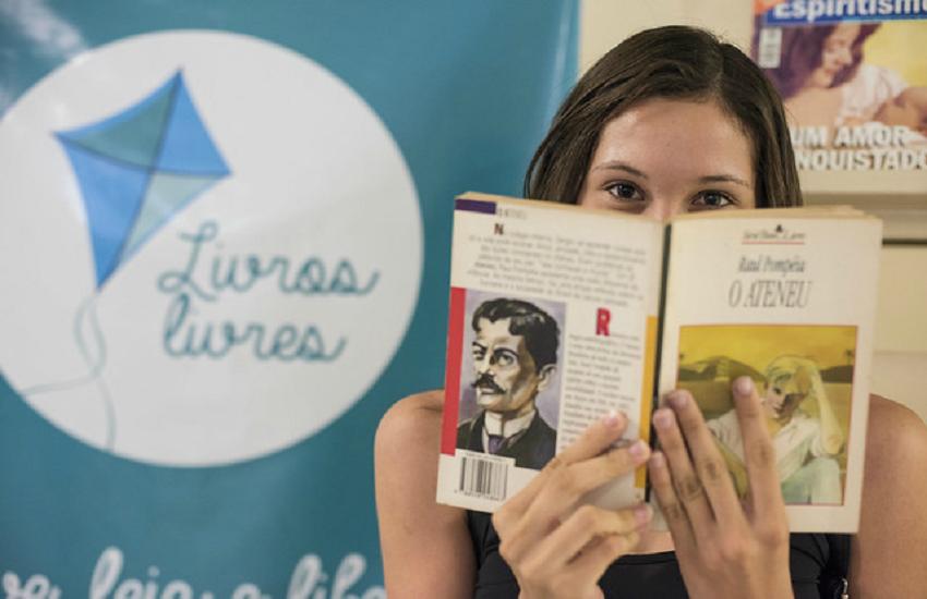Projeto sorteia livros entre quem fizer doações de exemplares para serem compartilhados