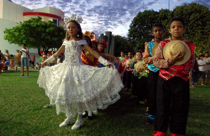 Quadrilhas juninas infantis fazem apresentação no domingo, no Dragão do Mar (FOTO: Divulgação/Dragão do Mar)